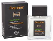 Eau de Toilette Vetiver Spiret 100 ml. Homme for men Florame'