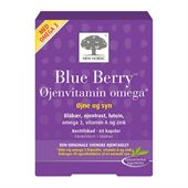 Blue Berry Omega 3 60 Kapsler