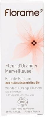Eau de Parfume Wonderful Orange Blossom 50 ml. Florame'